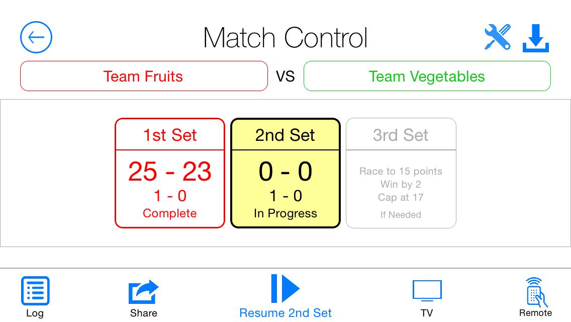 Referee-Match-Control