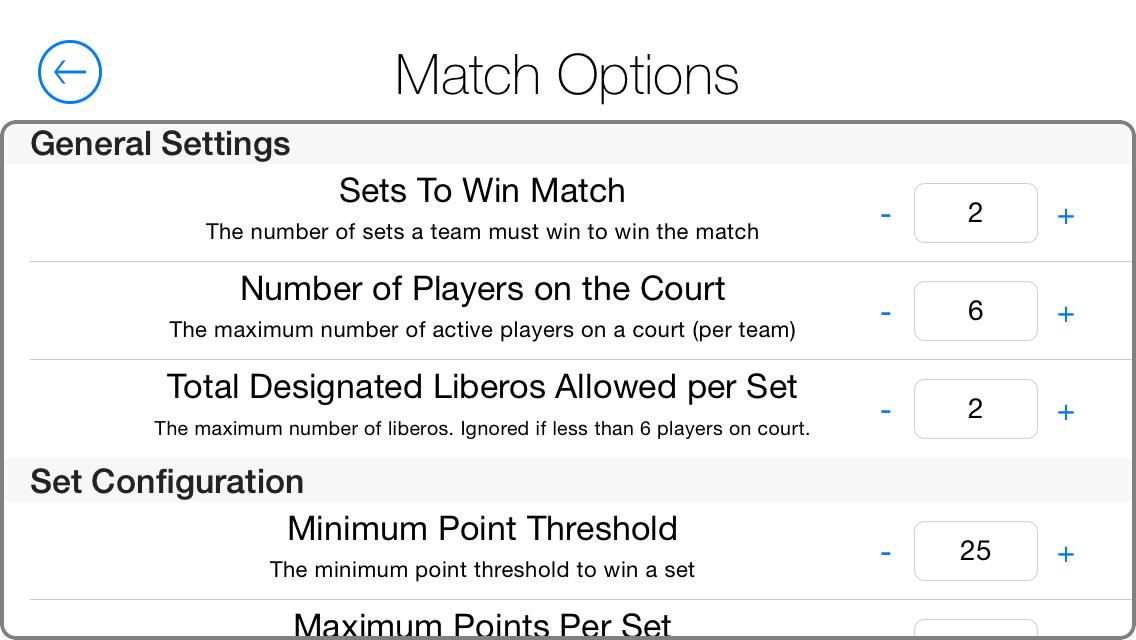 Referee-Match-Options