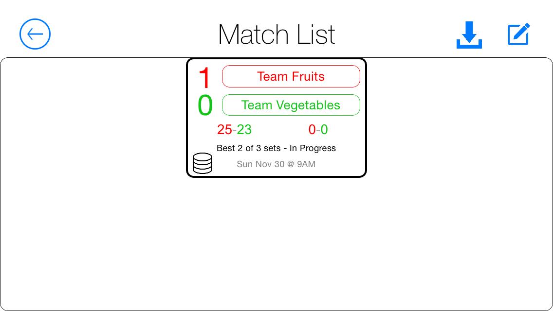 Referee-MatchList
