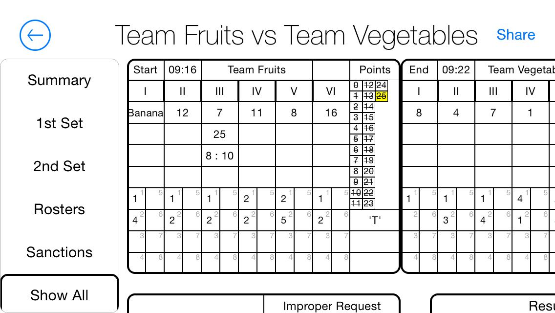 Referee-Scoresheet